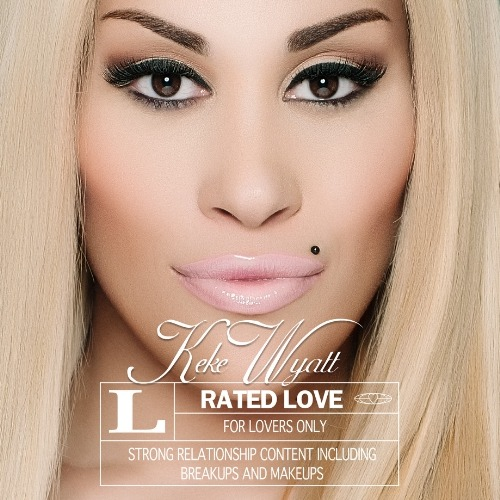 Keke Wyatt's 'Rated Love' album cover. (PRNewsFoto/Aratek Entertainment)